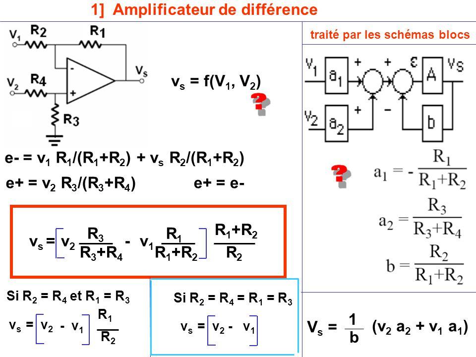 1] Amplificateur de différence